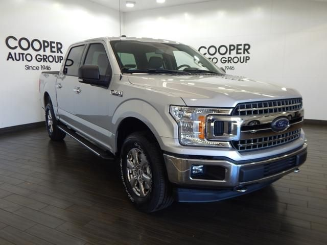 2018 F-150 Crew Cab 4x4 Pickup #JKC93627 - photo 1