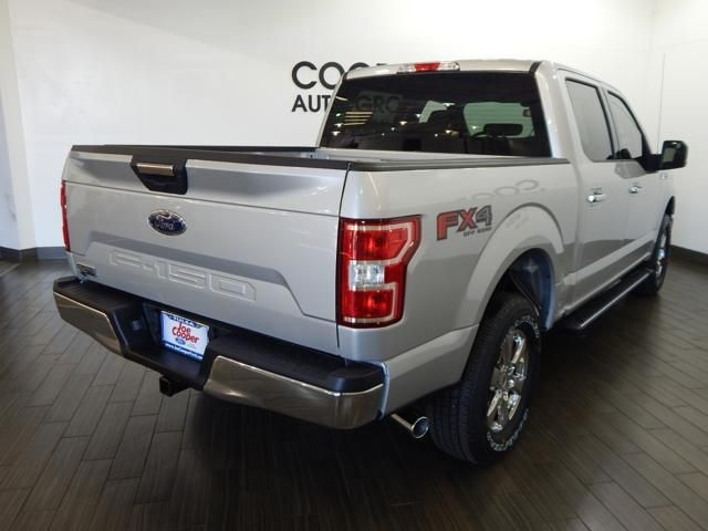 2018 F-150 Crew Cab 4x4 Pickup #JKC93627 - photo 2