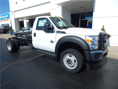2016 F-550 Regular Cab DRW 4x4, Cab Chassis #GED23176 - photo 1