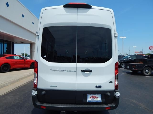 2018 Transit 350 HD High Roof DRW 4x2,  Passenger Wagon #JKA09741 - photo 2