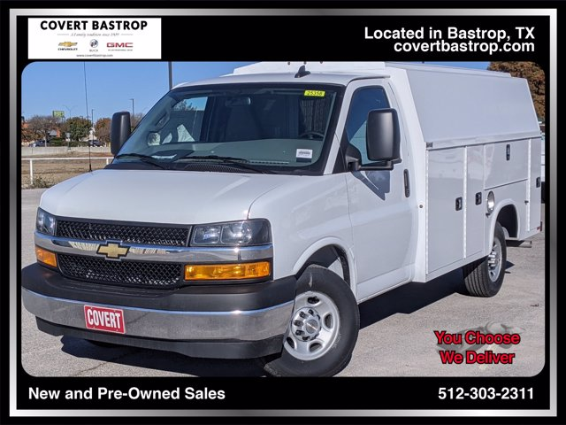 2020 Chevrolet Express 3500 4x2, Knapheide Service Utility Van #203467 - photo 1