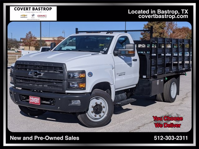 2019 Chevrolet Silverado Medium Duty Regular Cab DRW 4x2, Knapheide Stake Bed #393232 - photo 1
