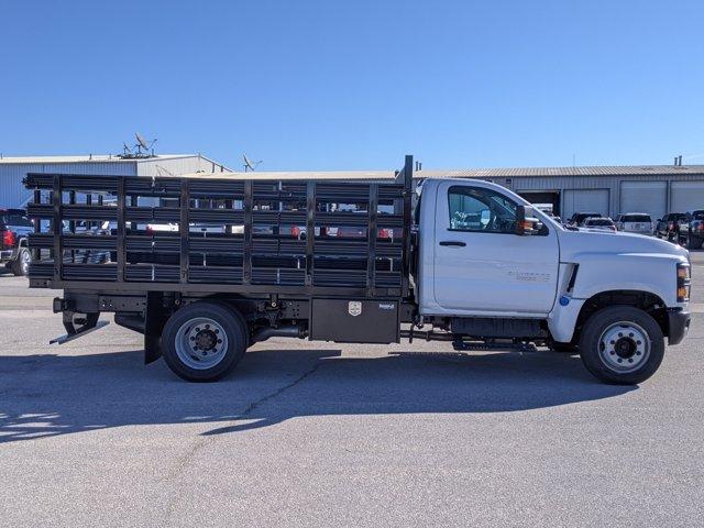 2019 Chevrolet Silverado Medium Duty Regular Cab DRW 4x2, Knapheide Stake Bed #393232 - photo 5