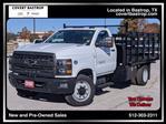 2019 Chevrolet Silverado Medium Duty Regular Cab DRW 4x2, Knapheide Stake Bed #393232 - photo 1
