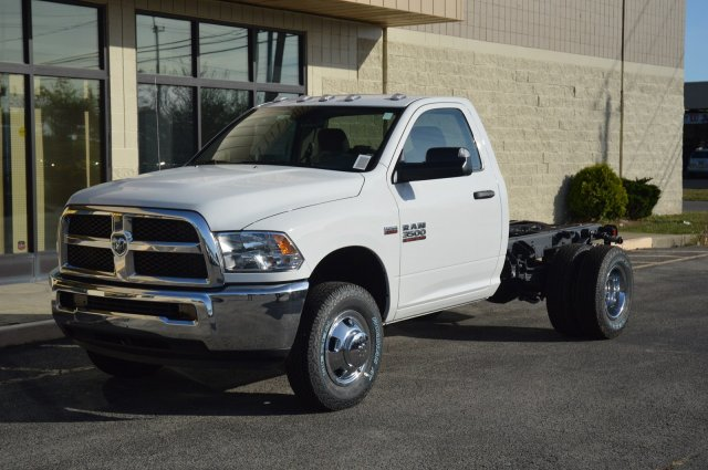 2018 Ram 3500 Regular Cab DRW 4x4, Cab Chassis #80126 - photo 1
