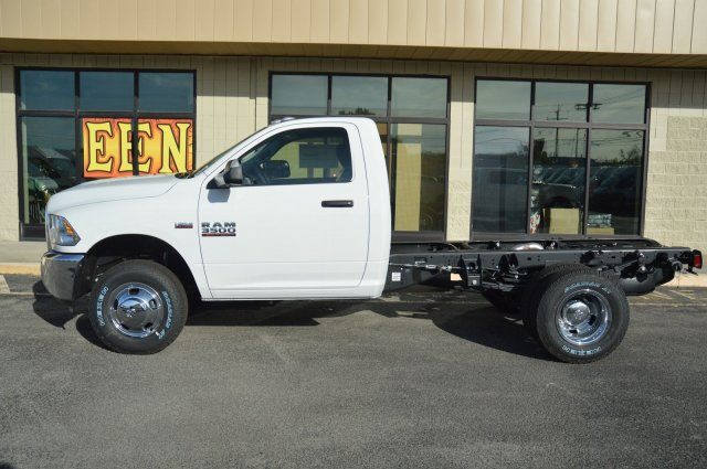 2018 Ram 3500 Regular Cab DRW 4x4, Cab Chassis #80126 - photo 3