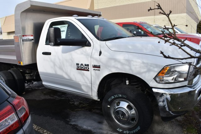 2018 Ram 3500 Regular Cab DRW 4x4,  Niagara Truck Equipment Dump Body #80128 - photo 4