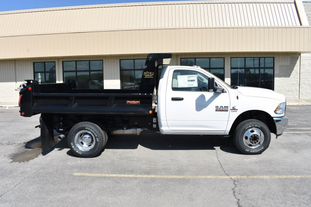 2018 Ram 3500 Regular Cab DRW 4x4,  Niagara Truck Equipment Dump Body #80881 - photo 8