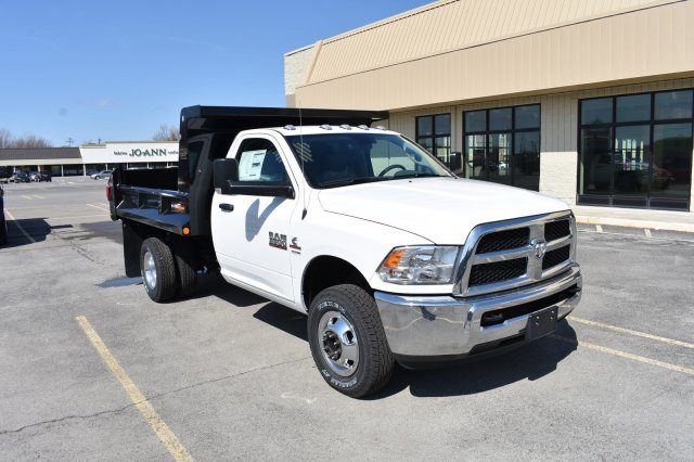 2018 Ram 3500 Regular Cab DRW 4x4,  Niagara Truck Equipment Dump Body #80881 - photo 3
