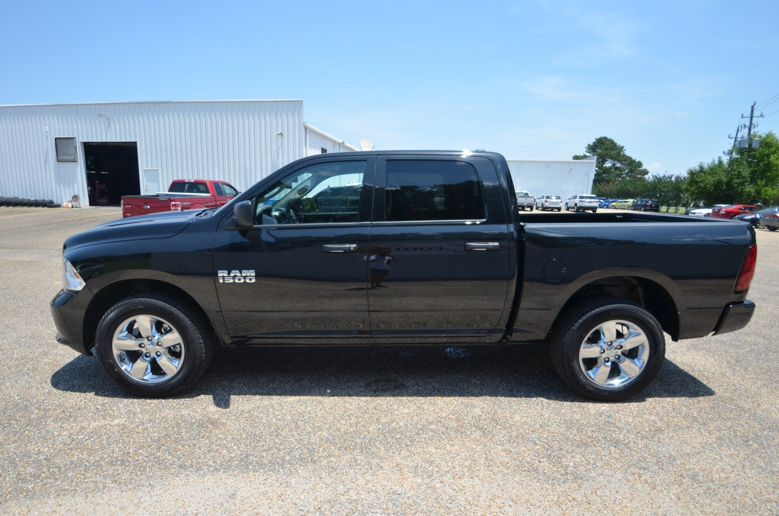 2018 Ram 1500 Crew Cab 4x4,  Pickup #C18352 - photo 4