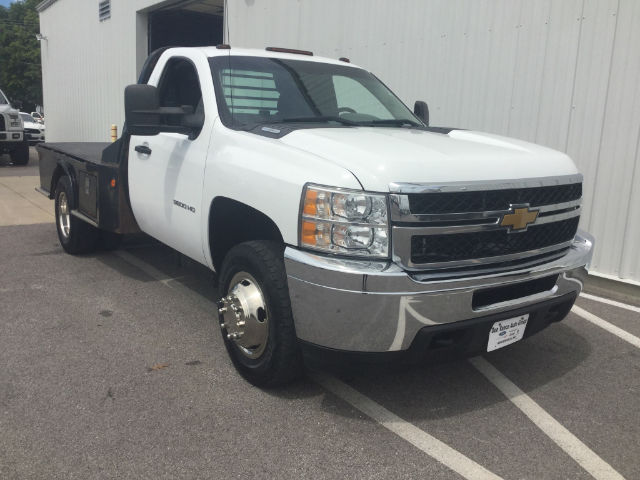 2012 Silverado 3500 Regular Cab 4x4 Platform Body #24747C - photo 5