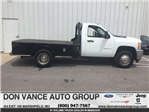 2012 Silverado 3500 Regular Cab 4x4 Platform Body #24747C - photo 1