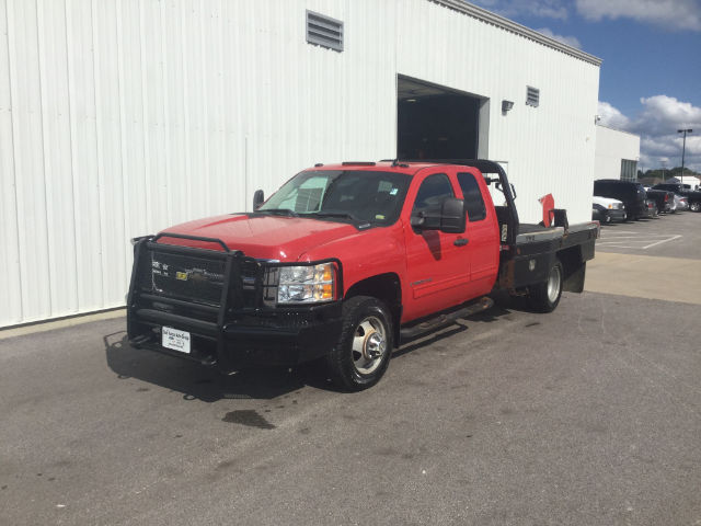 2009 Silverado 3500 Extended Cab 4x4 Platform Body #26739A - photo 3