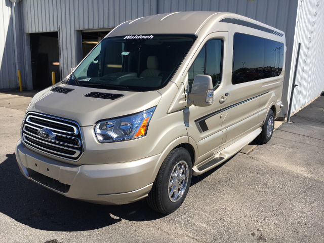 2017 Transit 250 Medium Roof Passenger Wagon #27613 - photo 3