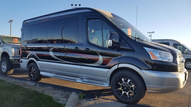 2017 Transit 250 Med Roof 4x2,  Passenger Wagon #27614 - photo 46