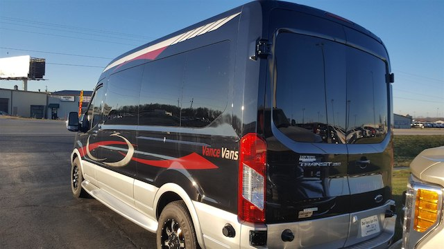 2017 Transit 250 Med Roof 4x2,  Passenger Wagon #27614 - photo 2