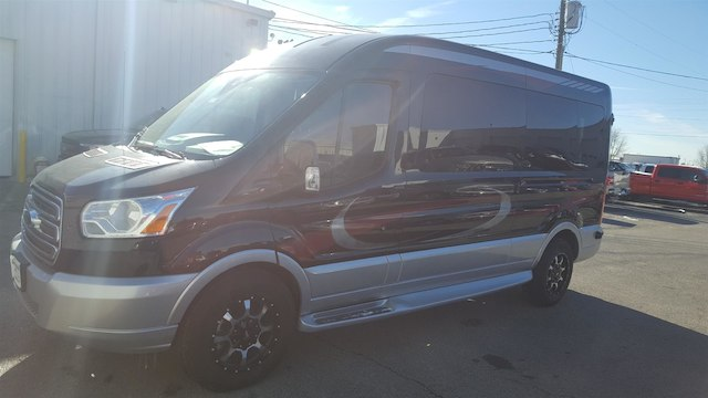 2017 Transit 250 Med Roof 4x2,  Passenger Wagon #27614 - photo 3