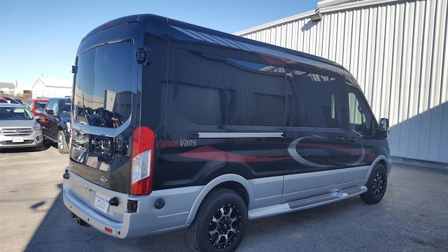 2017 Transit 250 Med Roof 4x2,  Passenger Wagon #27614 - photo 7