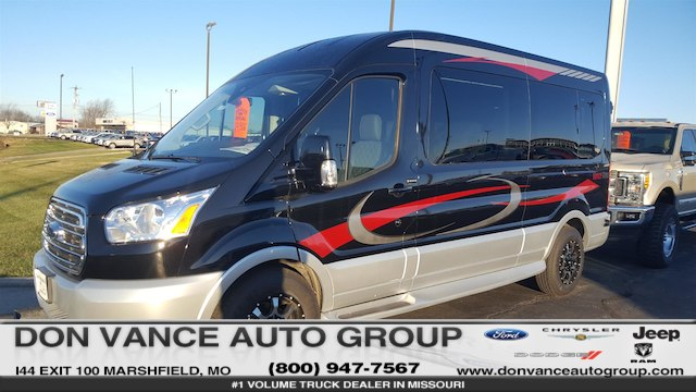 2017 Transit 250 Med Roof, Passenger Wagon #27614 - photo 1