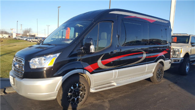 2017 Transit 250 Med Roof 4x2,  Passenger Wagon #27614 - photo 44