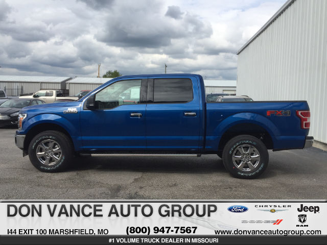 2018 F-150 SuperCrew Cab 4x4,  Pickup #27809 - photo 1
