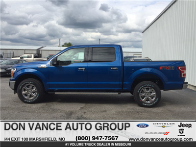 2018 F-150 Crew Cab 4x4, Pickup #27809 - photo 1