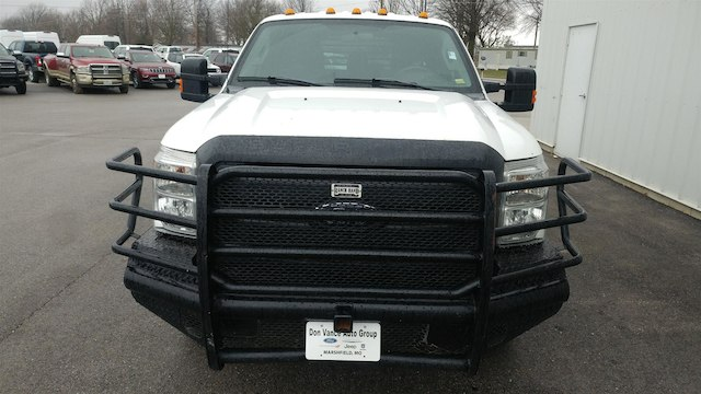 2014 F-350 Crew Cab DRW 4x4, Platform Body #28280A - photo 4