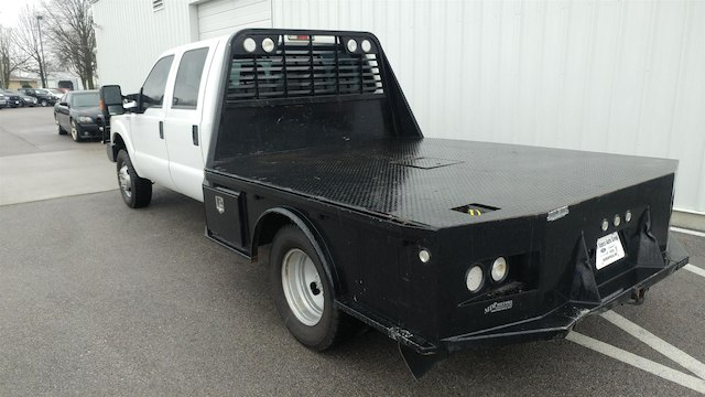 2014 F-350 Crew Cab DRW 4x4, Platform Body #28280A - photo 2