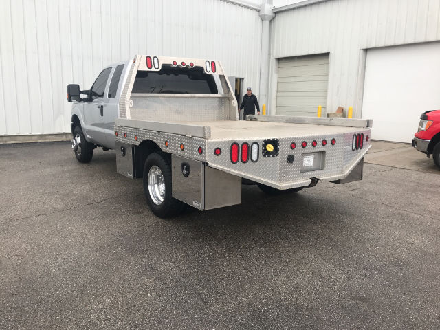 2014 F-350 Super Cab DRW 4x4, Platform Body #28378A - photo 2