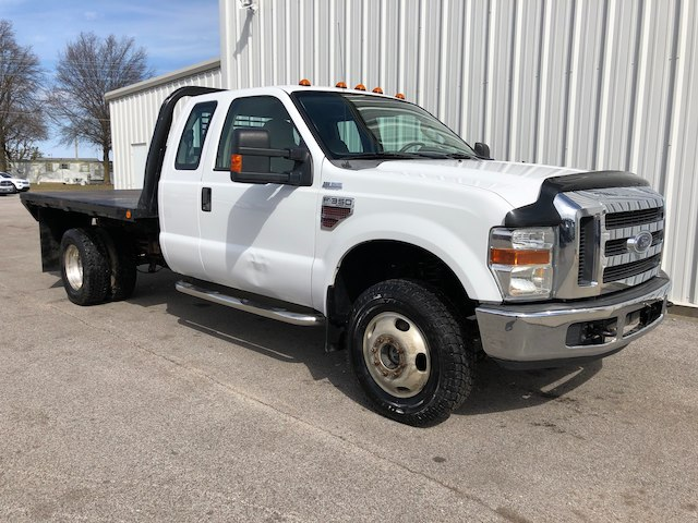 2008 F-350 Super Cab DRW 4x4, Platform Body #28420N - photo 3