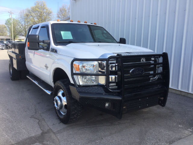 2015 F-350 Crew Cab DRW 4x4, Platform Body #28526A - photo 3