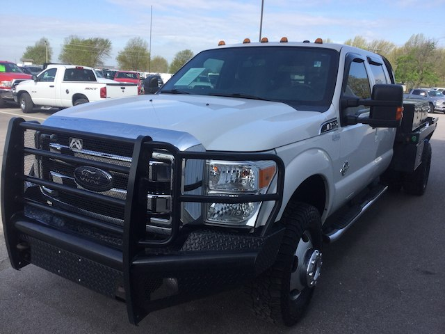 2015 F-350 Crew Cab DRW 4x4, Platform Body #28526A - photo 8