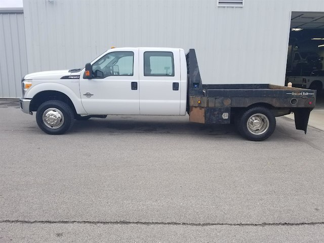 2012 F-350 Crew Cab DRW 4x4, Platform Body #28563A - photo 6