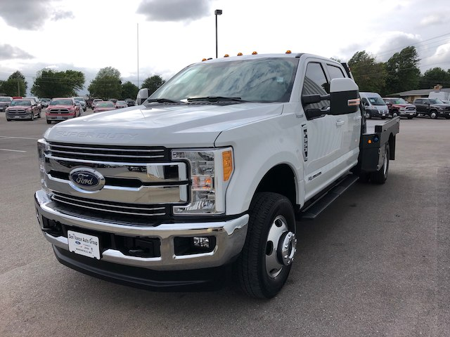 2017 F-350 Crew Cab DRW 4x4,  Platform Body #28590A - photo 5
