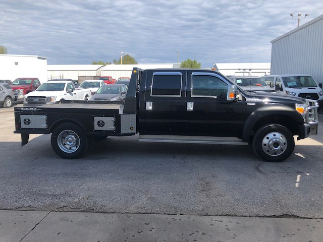 2016 F-550 Crew Cab DRW 4x4,  Platform Body #29037A - photo 5