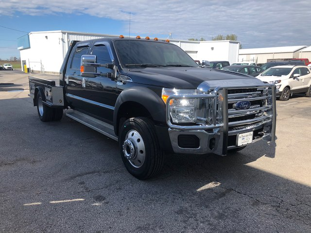 2016 F-550 Crew Cab DRW 4x4,  Platform Body #29037A - photo 6