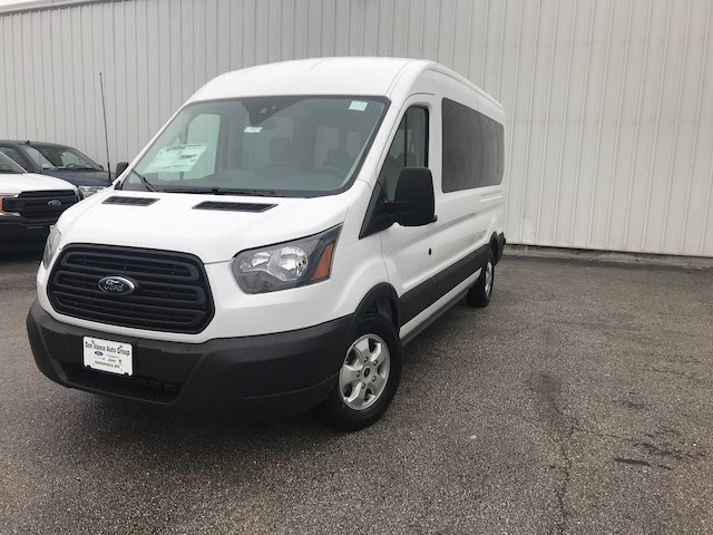 2019 Transit 350 Med Roof 4x2,  Passenger Wagon #29630 - photo 3