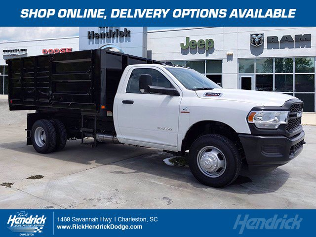 2020 Ram 3500 Regular Cab DRW 4x4, Knapheide Landscape Dump #CL00100 - photo 1