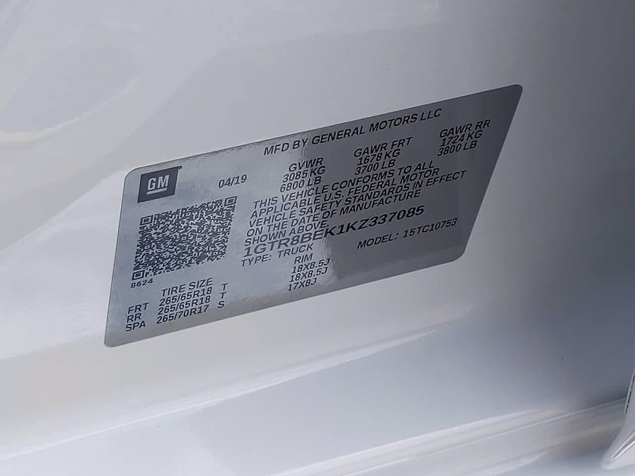 2019 GMC Sierra 1500 Double Cab 4x2, Pickup #DM00699A - photo 46