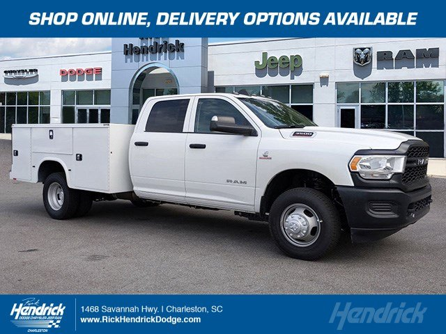 2020 Ram 3500 Crew Cab DRW 4x4, Knapheide Service Body #M200058 - photo 1