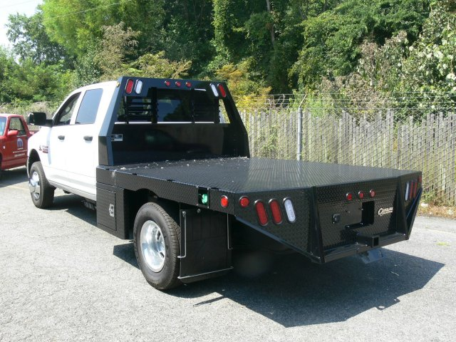 2017 Ram 3500 Crew Cab DRW 4x4, Platform Body #17818X - photo 9