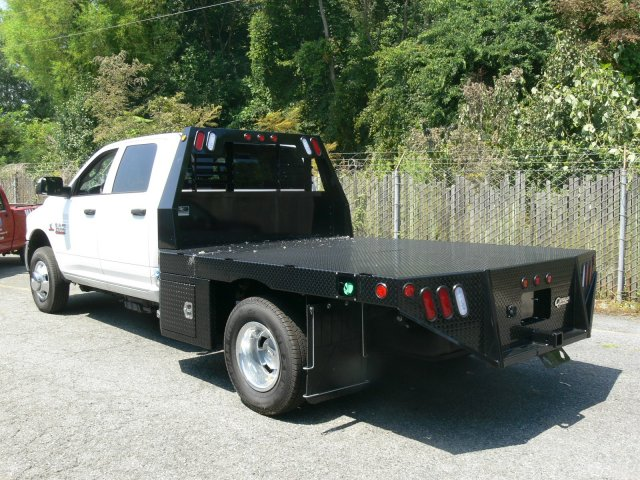 2017 Ram 3500 Crew Cab DRW 4x4, Platform Body #17818X - photo 3