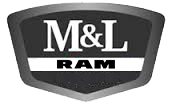 M & L Chrysler Dodge Jeep Ram logo