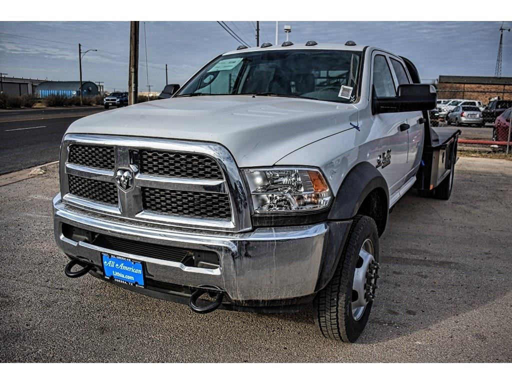 2018 Ram 4500 Crew Cab DRW 4x4, CM Truck Beds Platform Body #JG128960 - photo 5