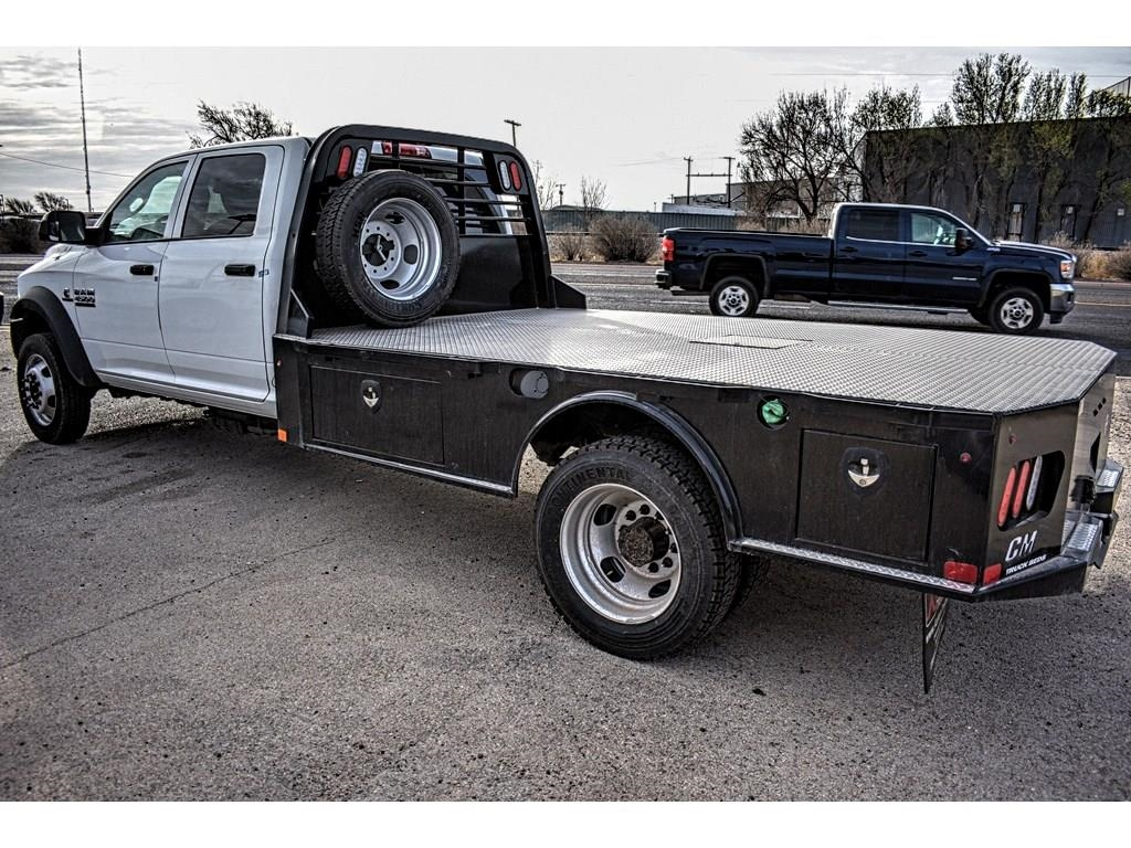 2018 Ram 4500 Crew Cab DRW 4x4, CM Truck Beds Platform Body #JG128960 - photo 8