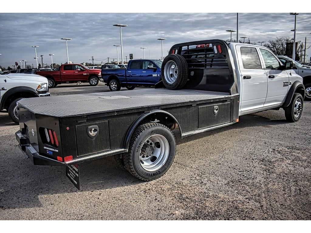 2018 Ram 4500 Crew Cab DRW 4x4, CM Truck Beds Platform Body #JG128960 - photo 2