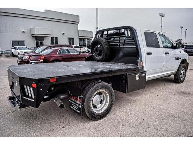 2018 Ram 3500 Crew Cab DRW 4x4,  Platform Body #JG394838 - photo 11