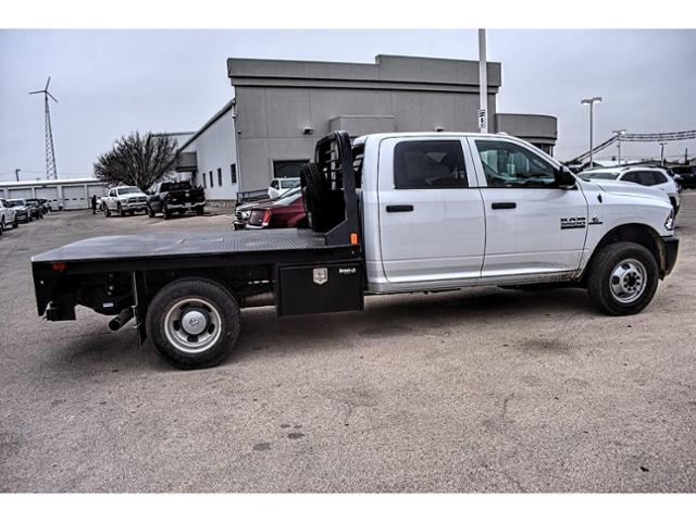 2018 Ram 3500 Crew Cab DRW 4x4,  Platform Body #JG394838 - photo 12