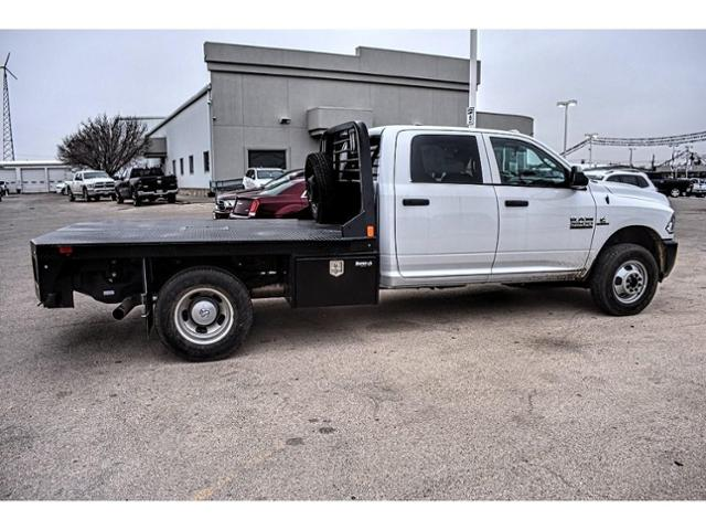 2018 Ram 3500 Crew Cab DRW 4x4,  Platform Body #JG394839 - photo 12