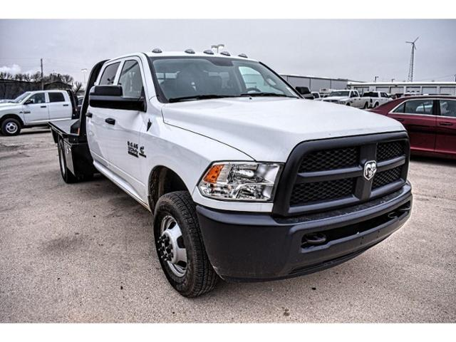 2018 Ram 3500 Crew Cab DRW 4x4,  Platform Body #JG394839 - photo 3